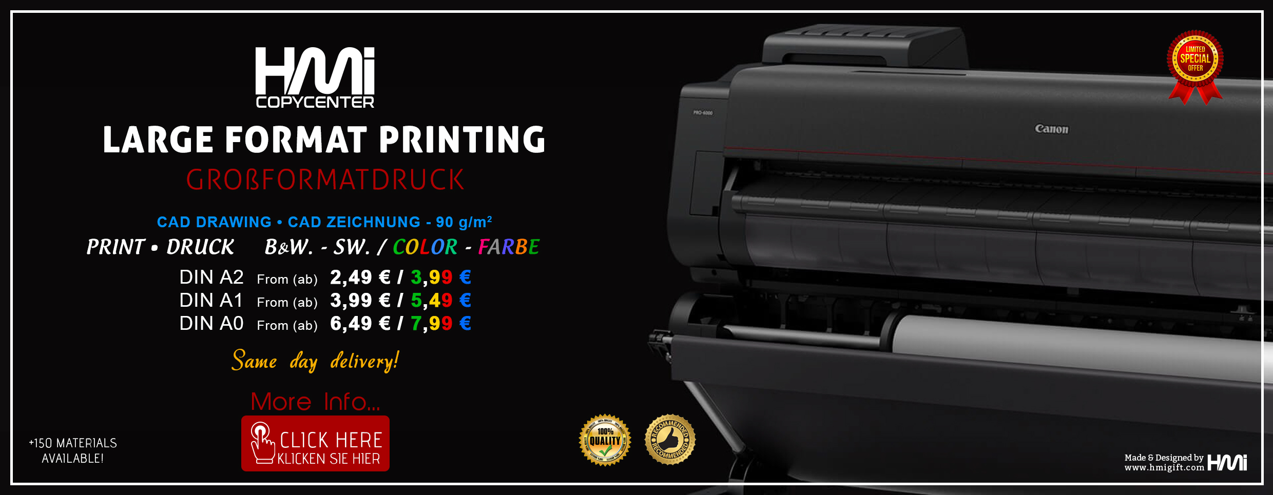 Large format Printing in Bochum | Printing in Bochum | Professional Printing services in Bochum | Copy and Print Services in Bochum | Photo and poster printing in Bochum
