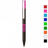 Plastic Pen 271 (Promotional black plastic pen) - hmi20271