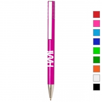 Plastic Pen 272 (Promotional coloured plastic pen) - hmi20272