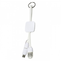 USB Cable 293 (USB, Type C, Micro USB - Included the keyring) - hmi26293