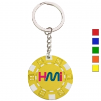 Poker chip keychain 143 - hmi47143