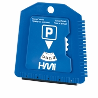 Ice Scraper 042 (Plastic Ice scraper with parking time) - hmi88042