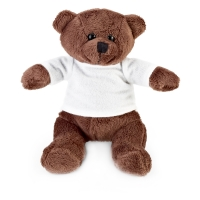 Teddy Bear 256 (mini bear doll with white t-shirt) - hmi95256