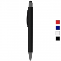 Promotional Rubberized Stylus Metal Pens - hmiPN42