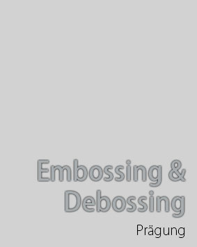 Embossing and Debossing Services in Germany