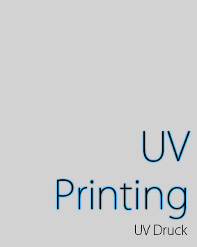 UV Printing Services in Germany