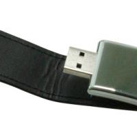 USB-Stick mit Lederriemen 8GB