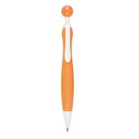 Stift 081 (Kunststoffstift - runde Form) - hmi20081-11 (Orange)
