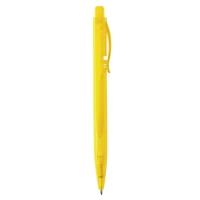 Plastikkugelschreiber 997 (Plastikkugelschreiber mit blauer Tinte) - hmi20997-12 (Gelb)