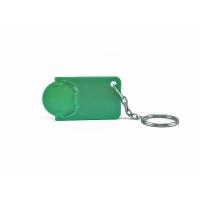 Schlüsselanhänger 039 (Einkaufswagen Münze Schlüsselanhänger) - hmi47039-09 (Grün)