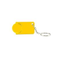 Schlüsselanhänger 039 (Einkaufswagen Münze Schlüsselanhänger) - hmi47039-12 (Gelb)