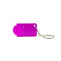 Schlüsselanhänger 039 (Einkaufswagen Münze Schlüsselanhänger) - hmi47039-13 (Iila)