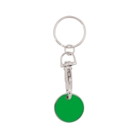 Schlüsselanhänger 059 (Einkaufswagen Münze Schlüsselanhänger) - hmi47059-09 (Grün)