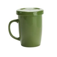 Tasse 127 (Teetasse mit Deckel) - hmi74127-09 (Grün)