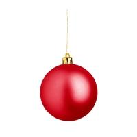 Weihnachtskugel (Weihnachtsschmuck 8cm) - hmi99099-04 (Rot)