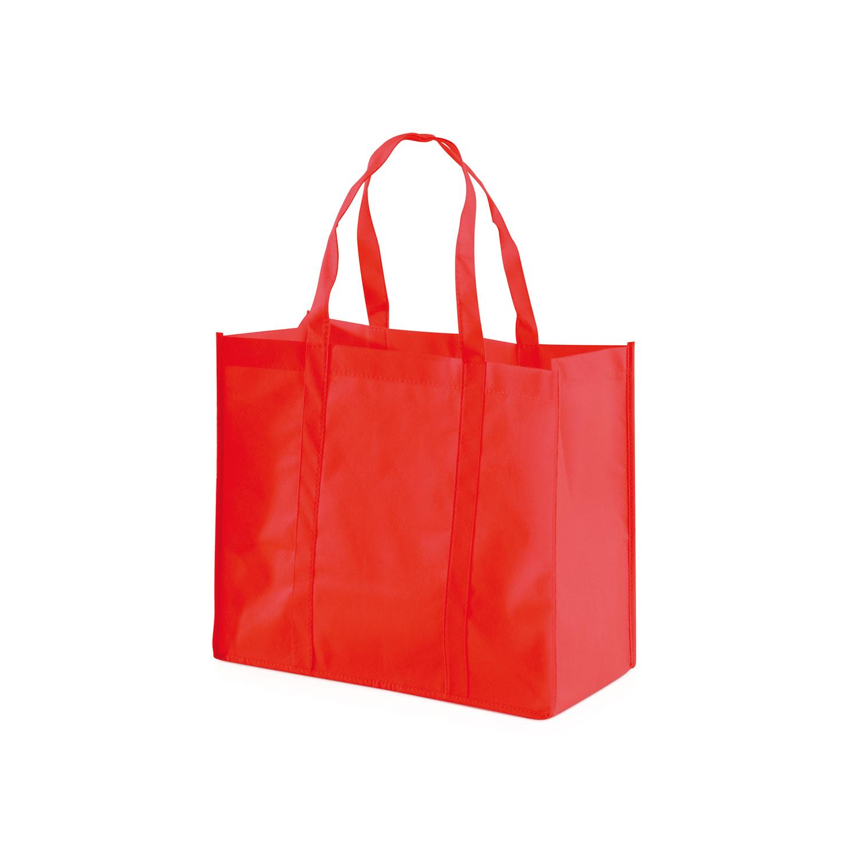 Shopping Bag 013 (Non-woven Shopping bag) - hmi17013-04 (Red)