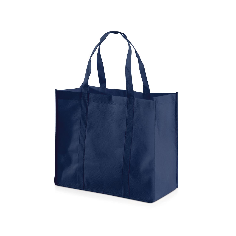 Shopping Bag 013 (Non-woven Shopping bag) - hmi17013-08 (Dark Blue)