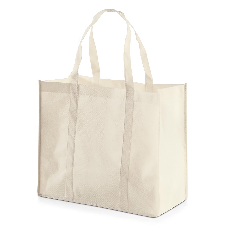 Shopping Bag 013 (Non-woven Shopping bag) - hmi17013-14 (White off)