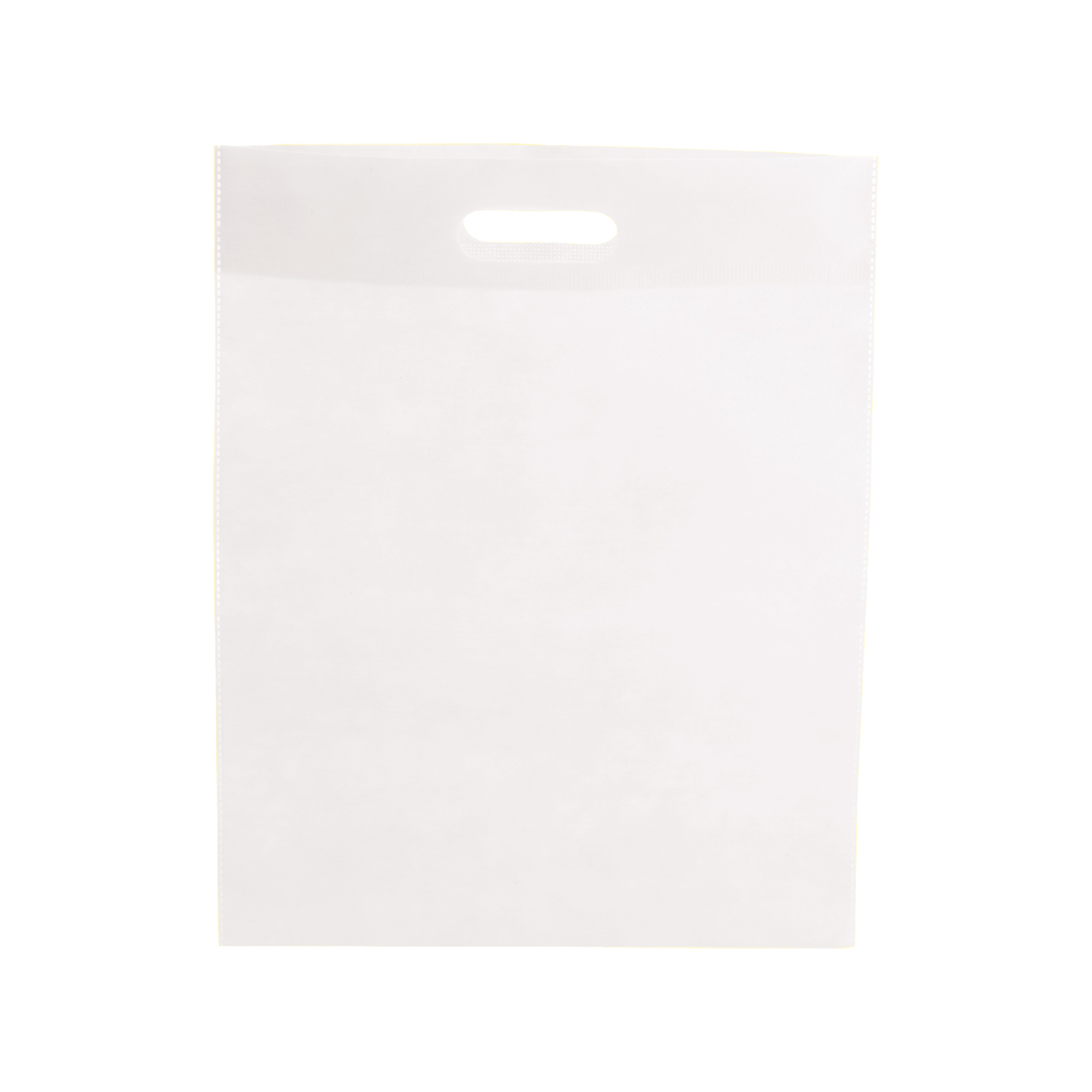 Shopping Bag 022 (Non-woven shopping bag) - hmi17022-02 (White)