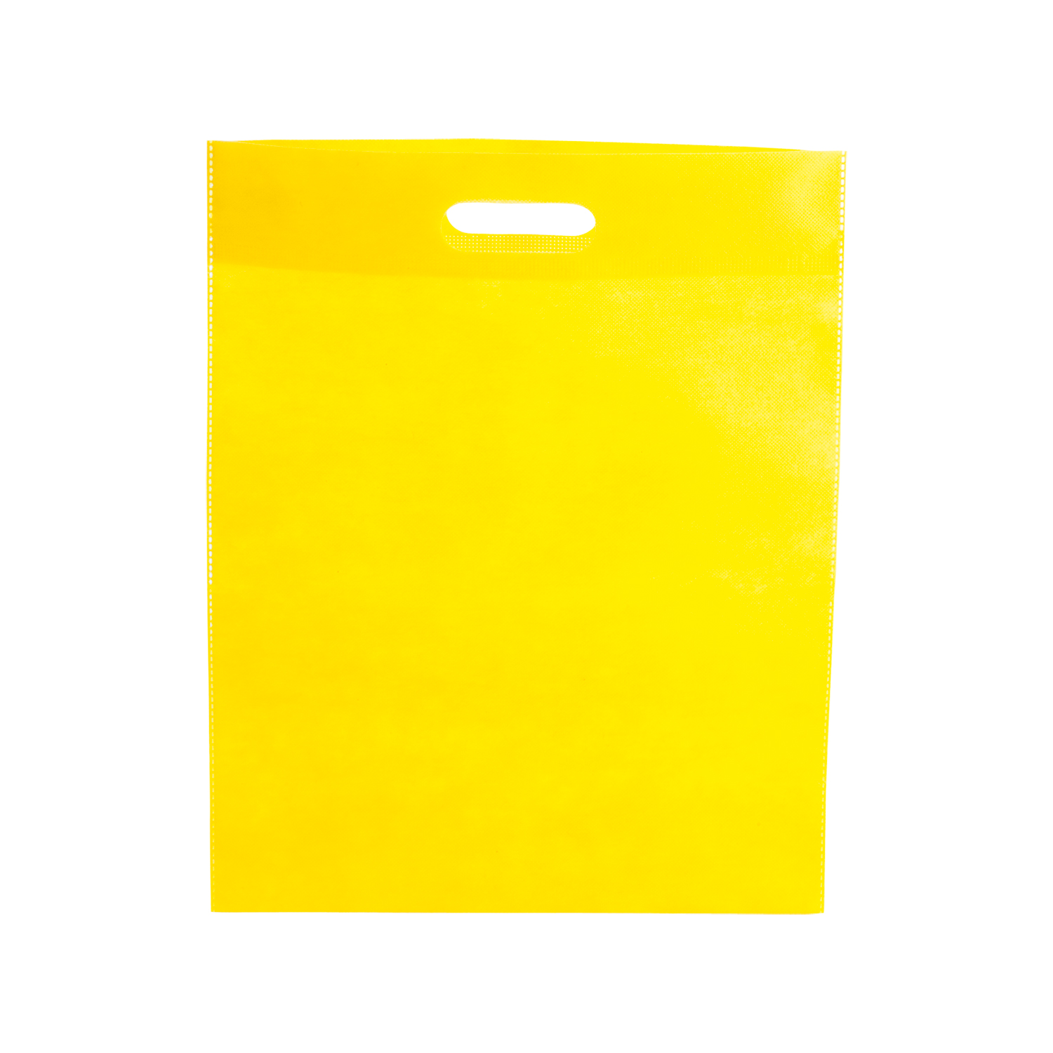 Shopping Bag 022 (Non-woven shopping bag) - hmi17022-12 (Yellow)