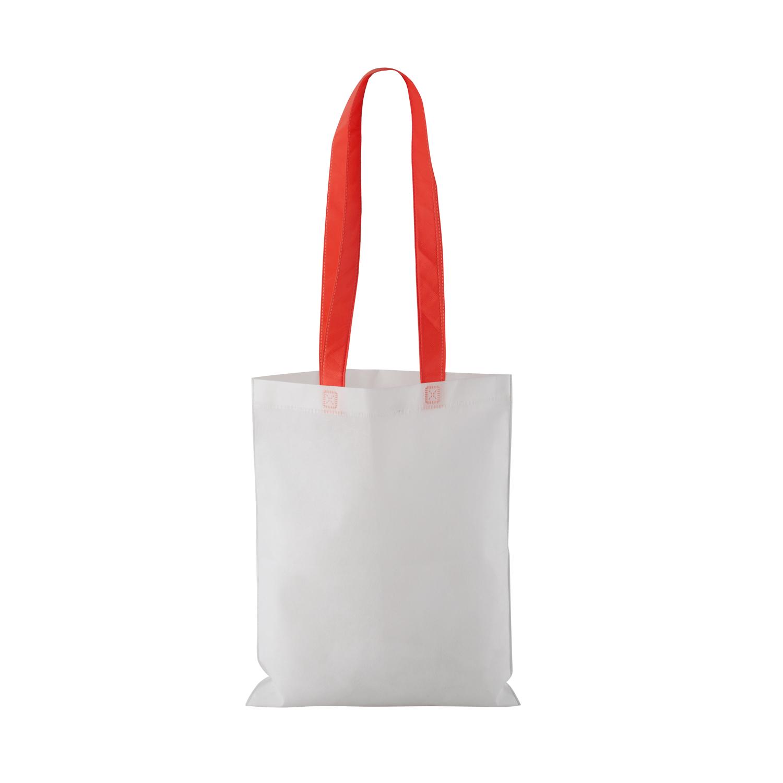 Non-woven Shopping bag with long handle (33 x 41,5 cm) - hmi17098-04 (Red)