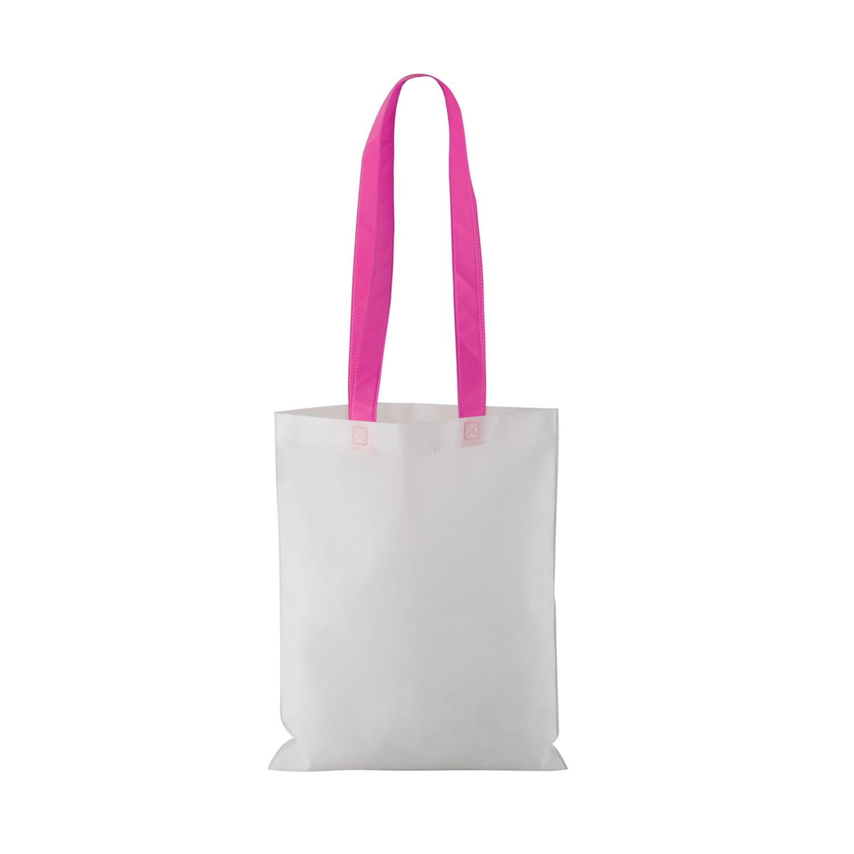 Non-woven Shopping bag with long handle (33 x 41,5 cm) - hmi17098-06 (Pink)