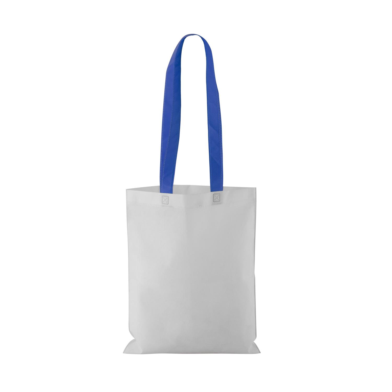 Non-woven Shopping bag with long handle (33 x 41,5 cm) - hmi17098-07 (Blue)