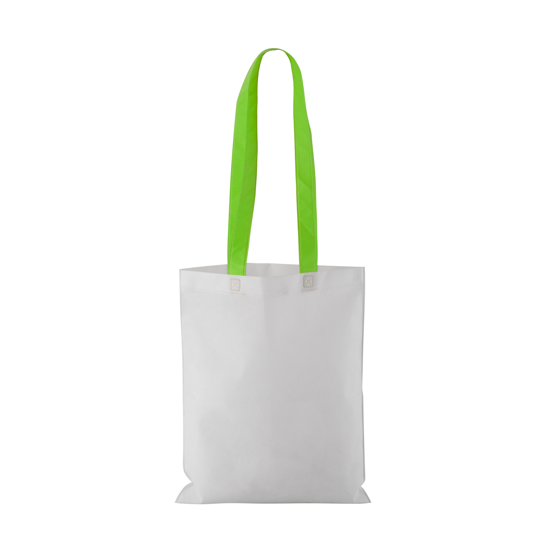 Non-woven Shopping bag with long handle (33 x 41,5 cm) - hmi17098-09 (Green)