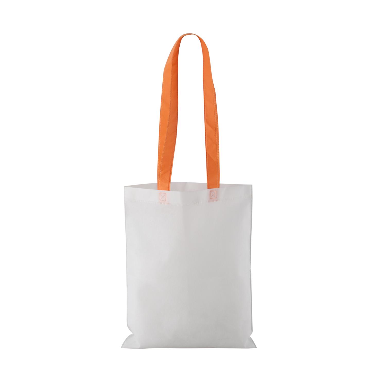 Non-woven Shopping bag with long handle (33 x 41,5 cm) - hmi17098-11 (Orange)