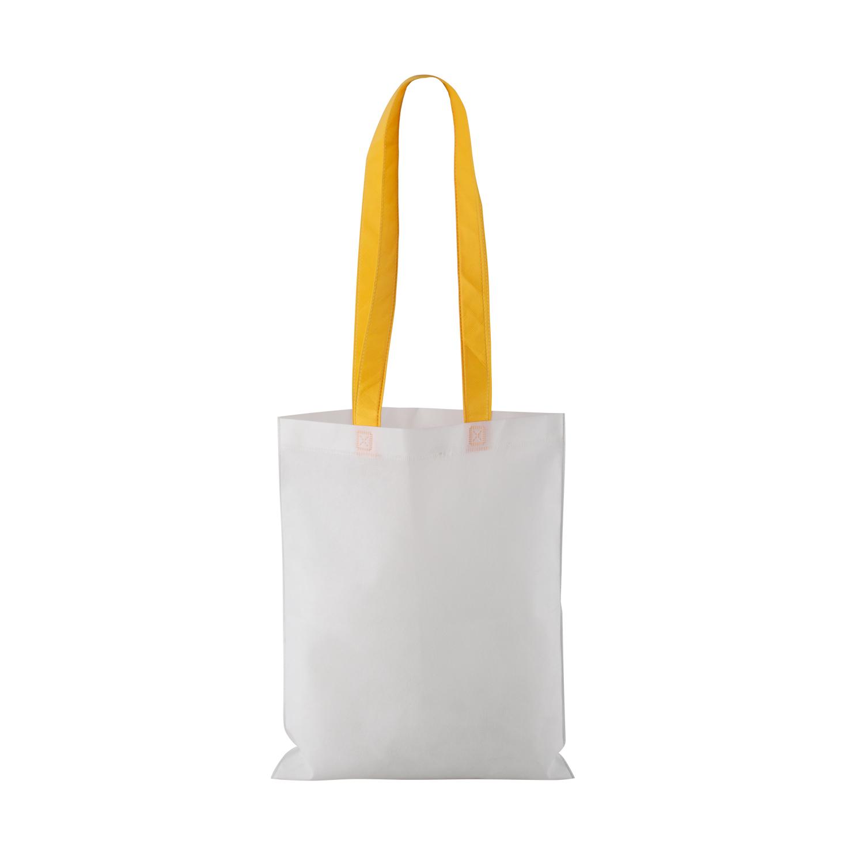 Non-woven Shopping bag with long handle (33 x 41,5 cm) - hmi17098-12 (Yellow)