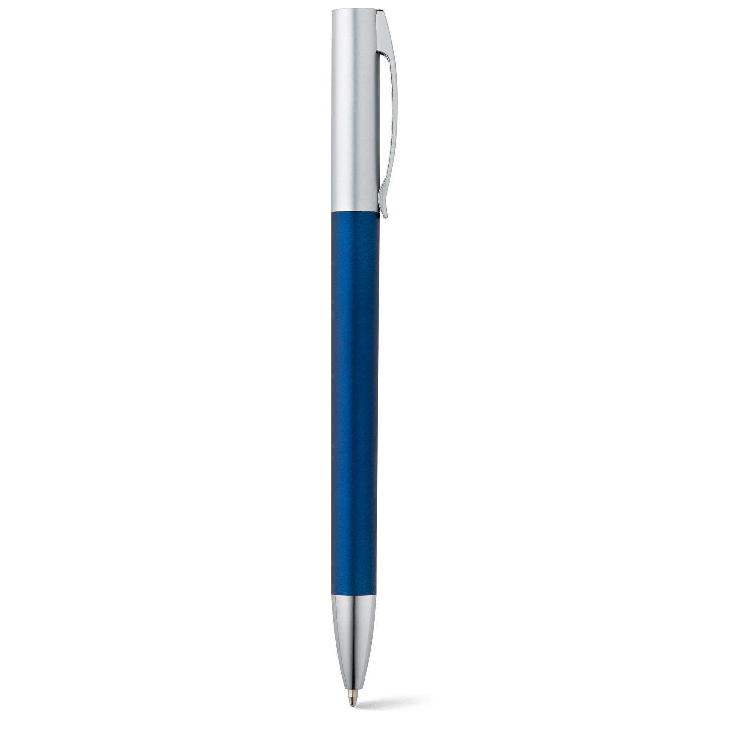 Pen 138 (Plastic pen with metal finishing) - hmi20138-07 (Blue)