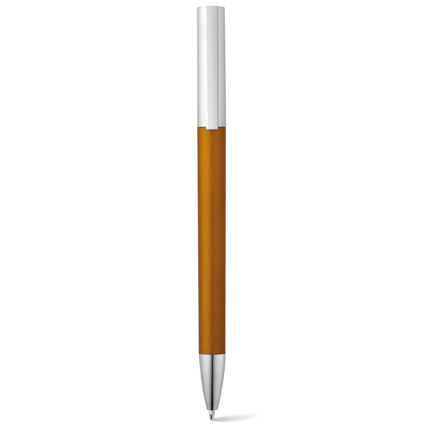 Pen 138 (Plastic pen with metal finishing) - hmi20138-11 (Orange)