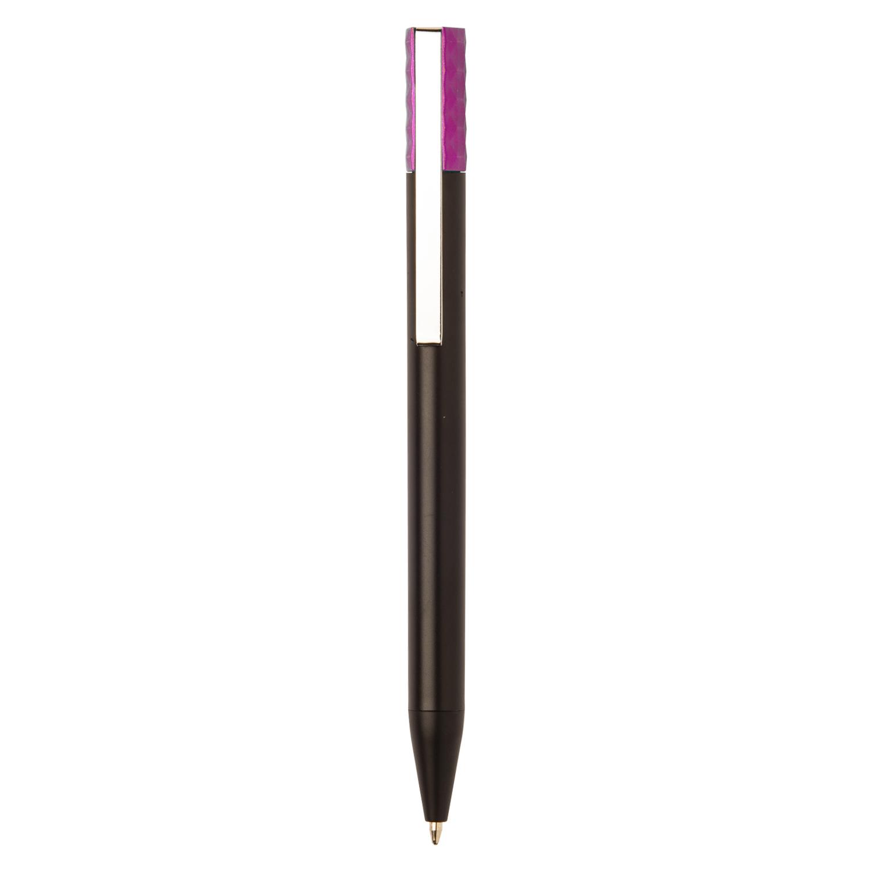 Promotional Plastic Pen 271 (Promotional black plastic pen) - hmi20271-06 (Pink)