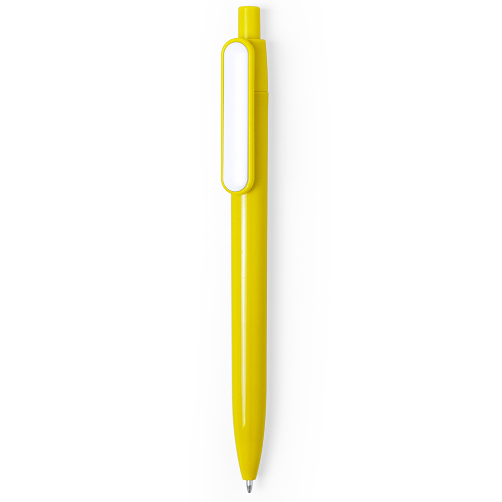 Plastic Pen 280 (Great promotional plastic pen) - hmi20280-12 (Yellow)