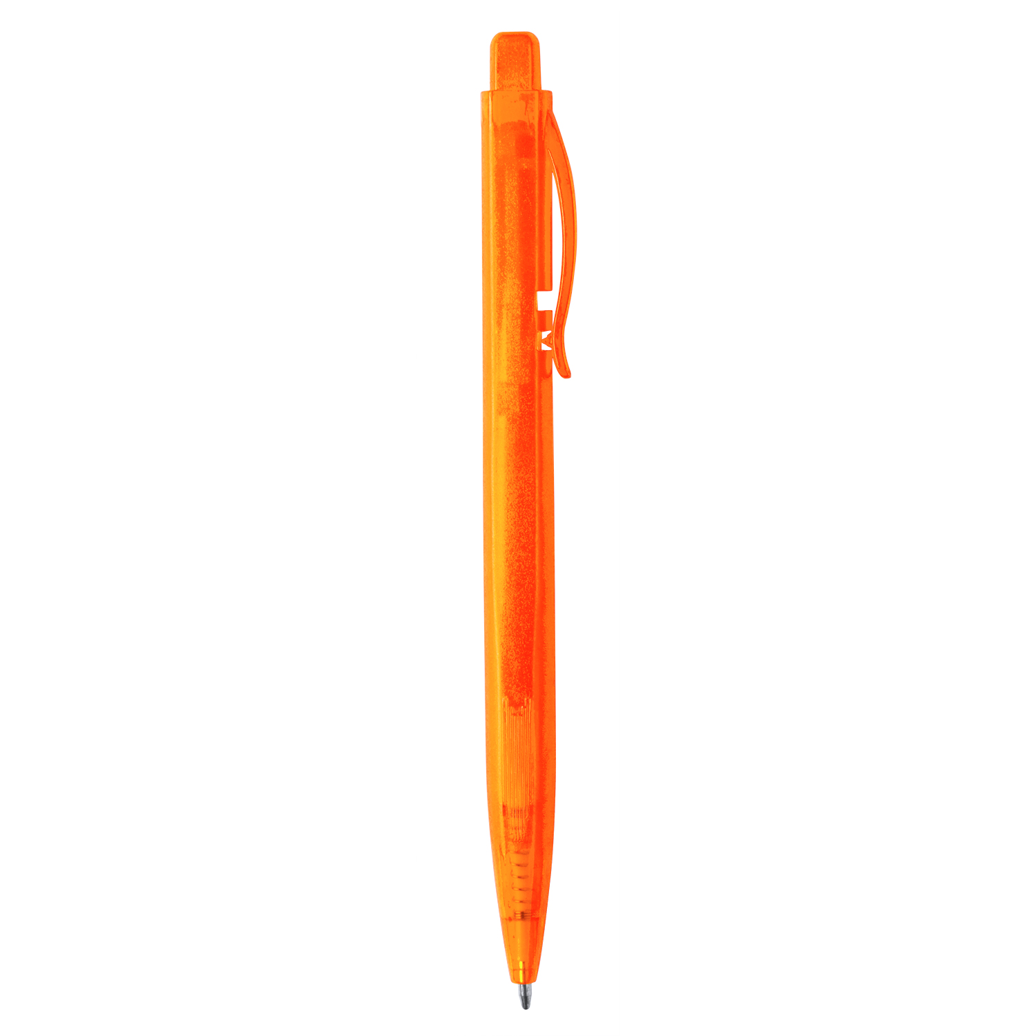 Plastic Pen 997 (plastic ball pen with blue ink) - hmi20997-11 (Orange)