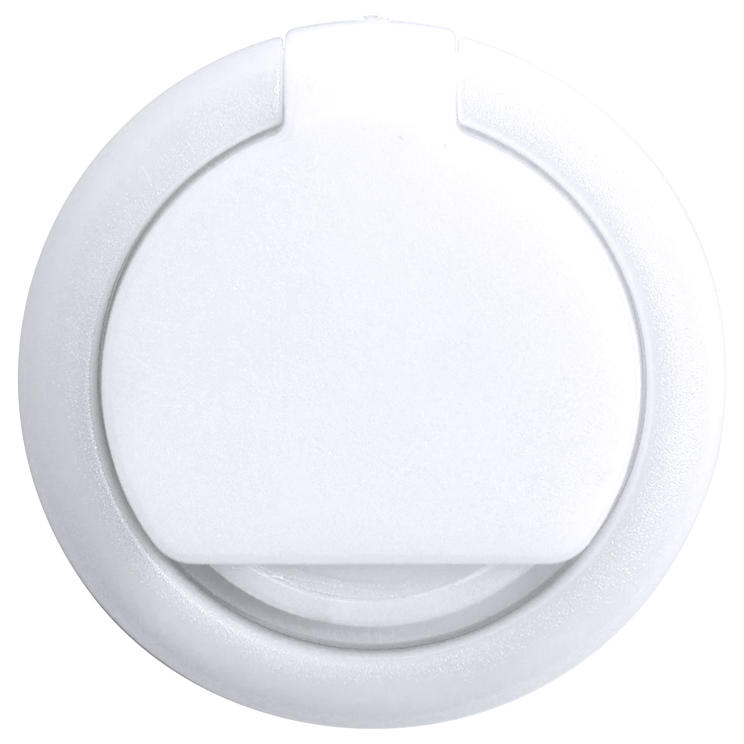 Phone Ring 868 (Plastic phone holder and phone ring) - hmi26868-02 (White)