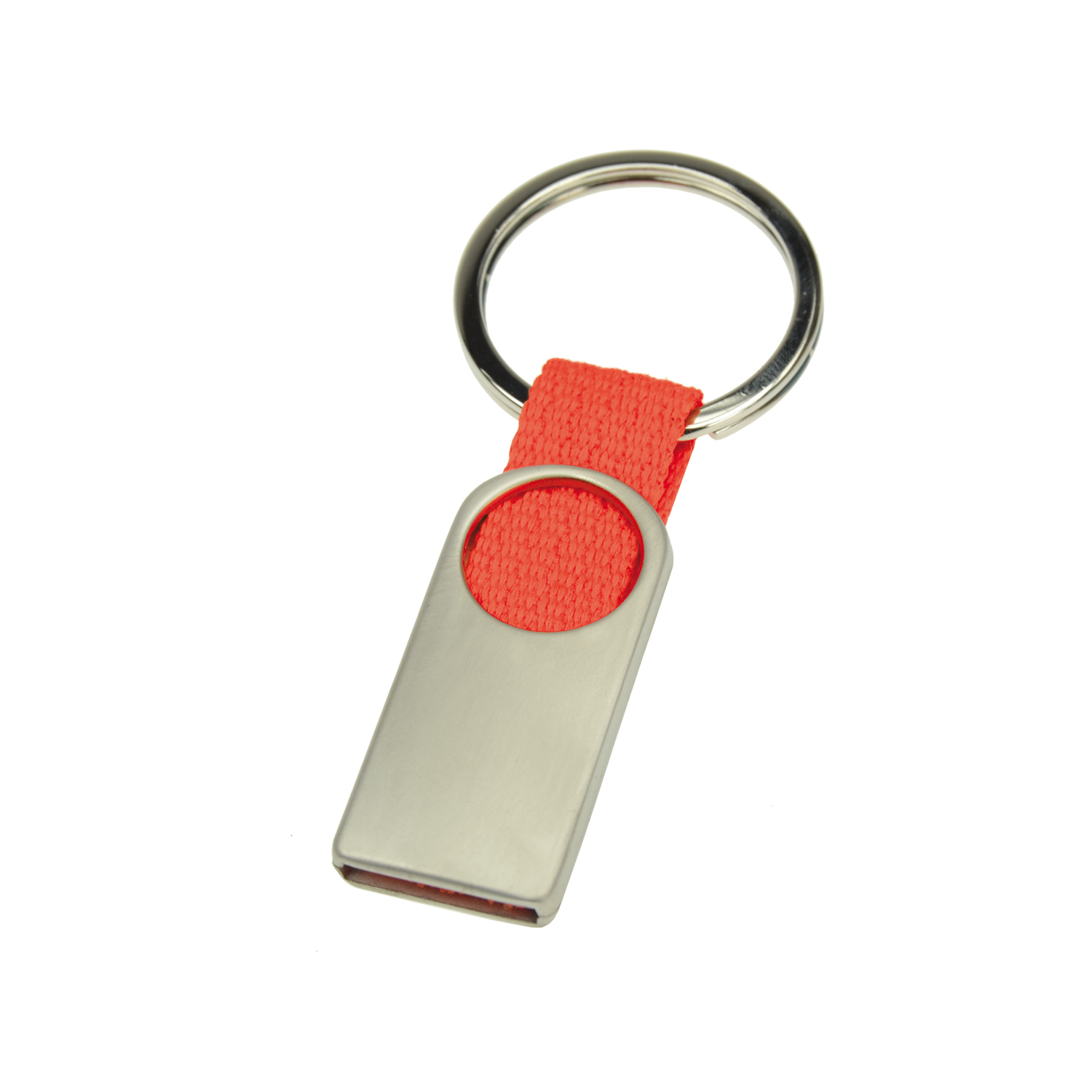 Keychain 007 (Metal keyring) - hmi46007-04 (Red)