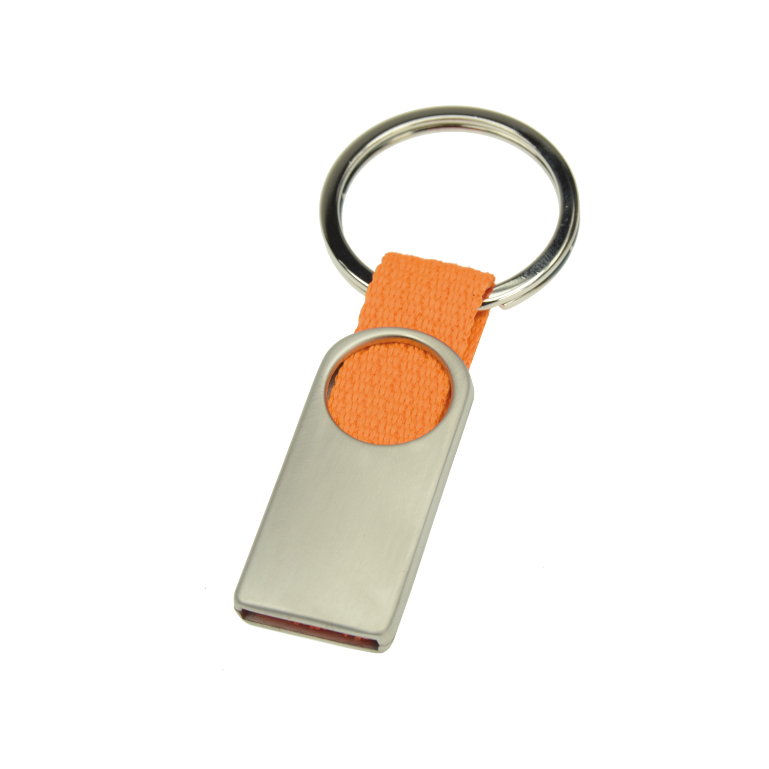 Keychain 007 (Metal keyring) - hmi46007-11 (Orange)