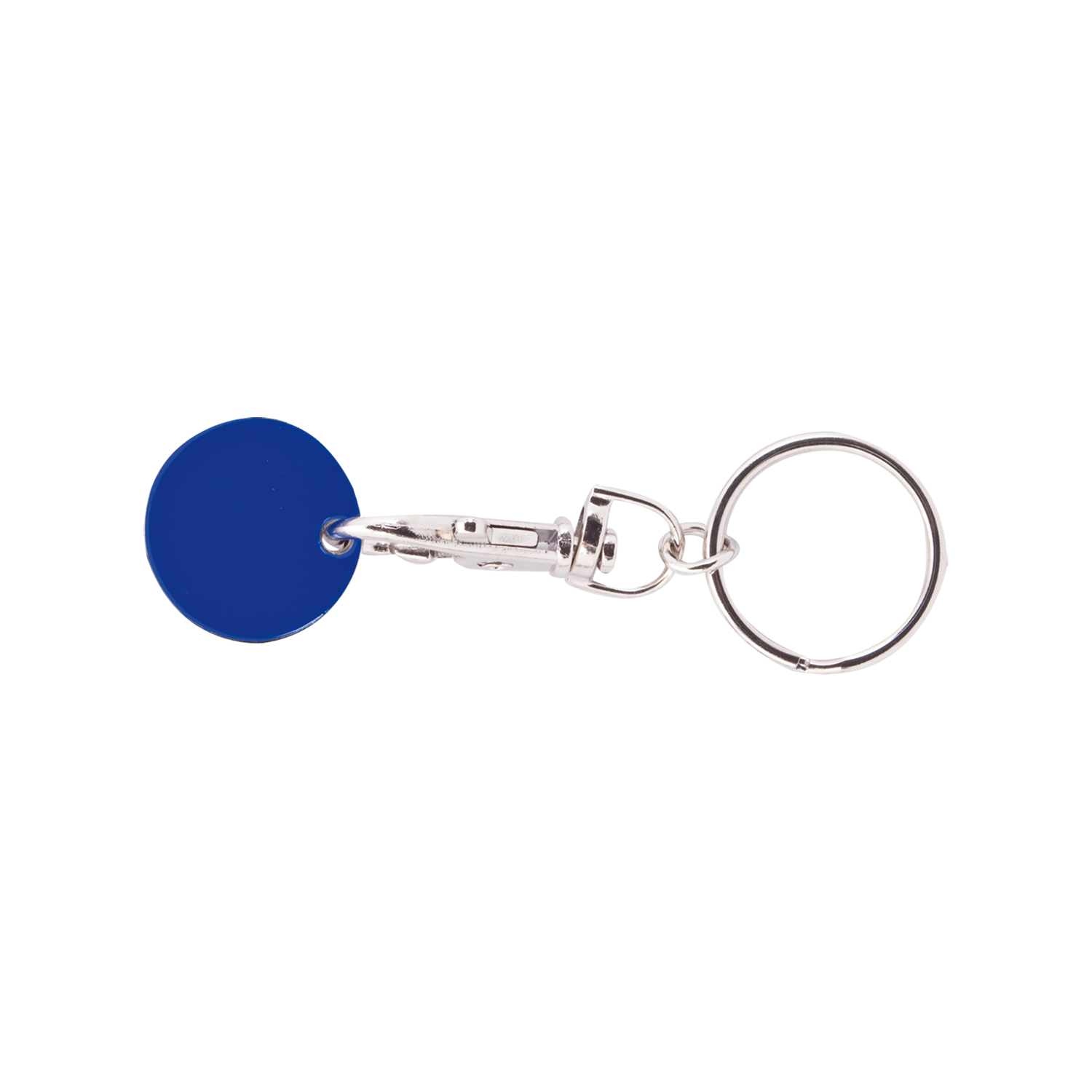 Keychain 059 (Shopping trolley coin keychain) - hmi47059-07 (Blue)
