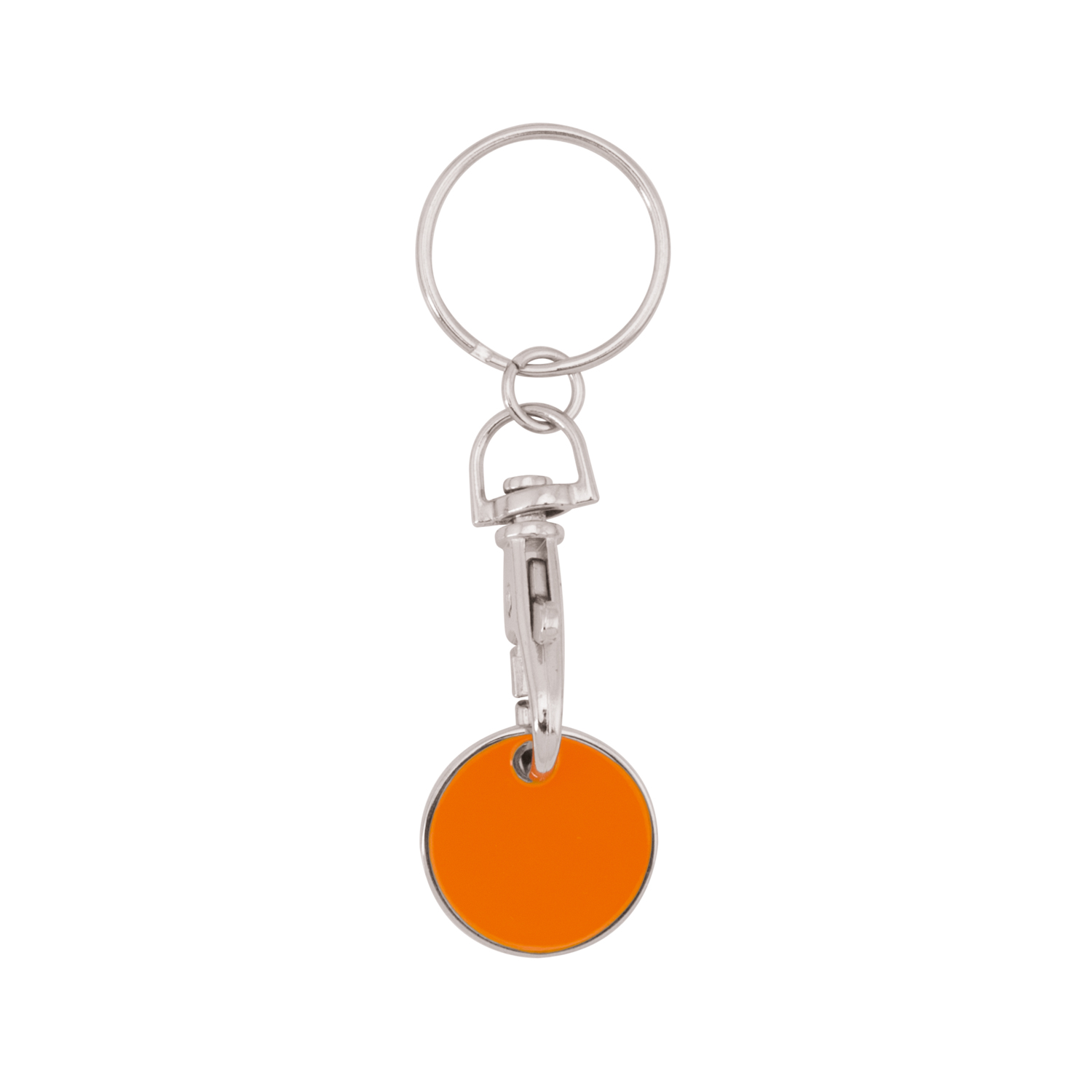 Keychain 059 (Shopping trolley coin keychain) - hmi47059-11 (Orange)