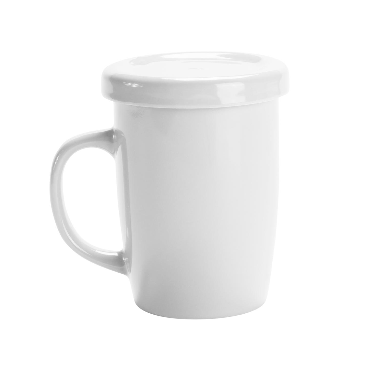Mug 127 (Tea cup with tab) - hmi74127-01 (White)