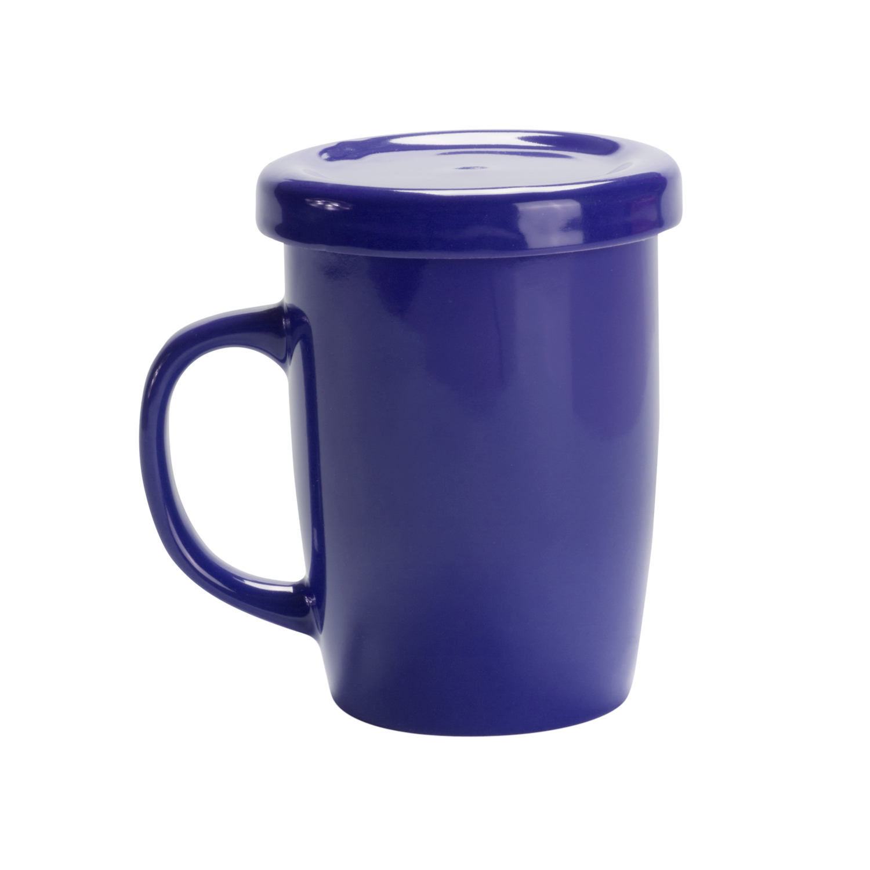 Mug 127 (Tea cup with tab) - hmi74127-07 (Blue)