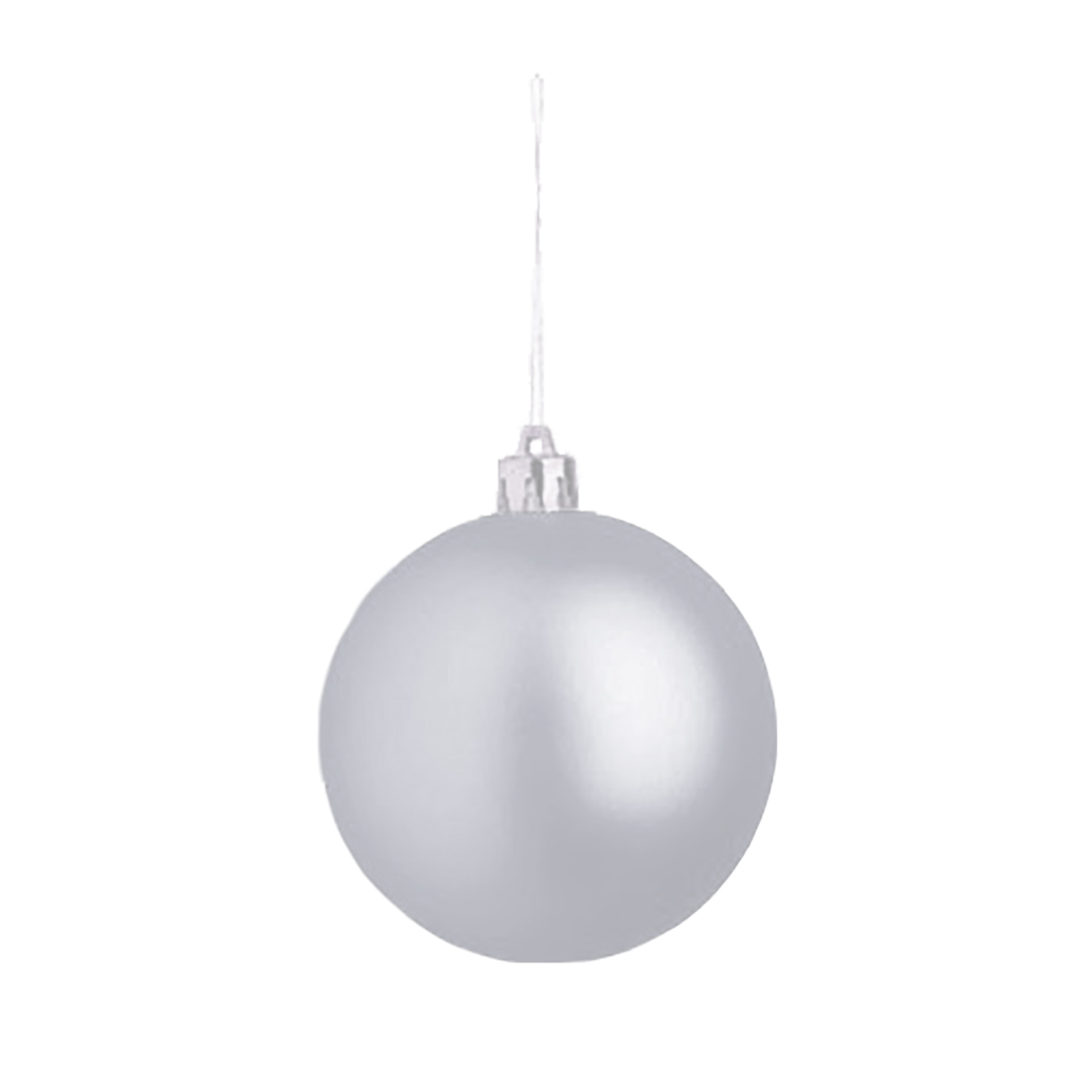 Christmas Ball (Christmas ornament 8cm) - hmi99099-03 (silver)